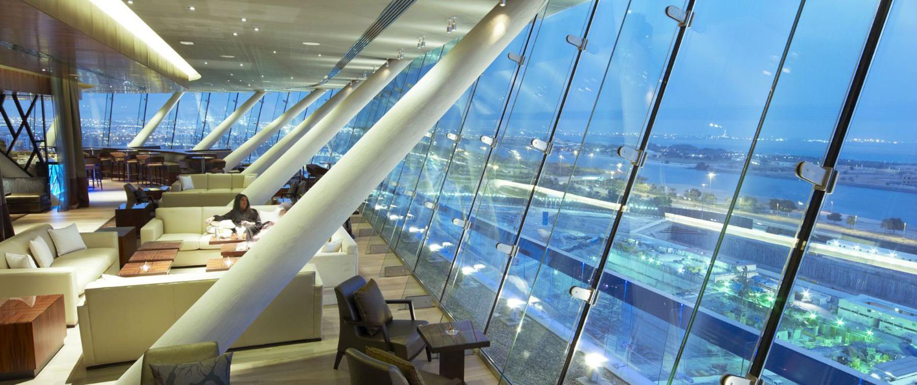Terrace restaurant in Abu Dhabi - Relax@12