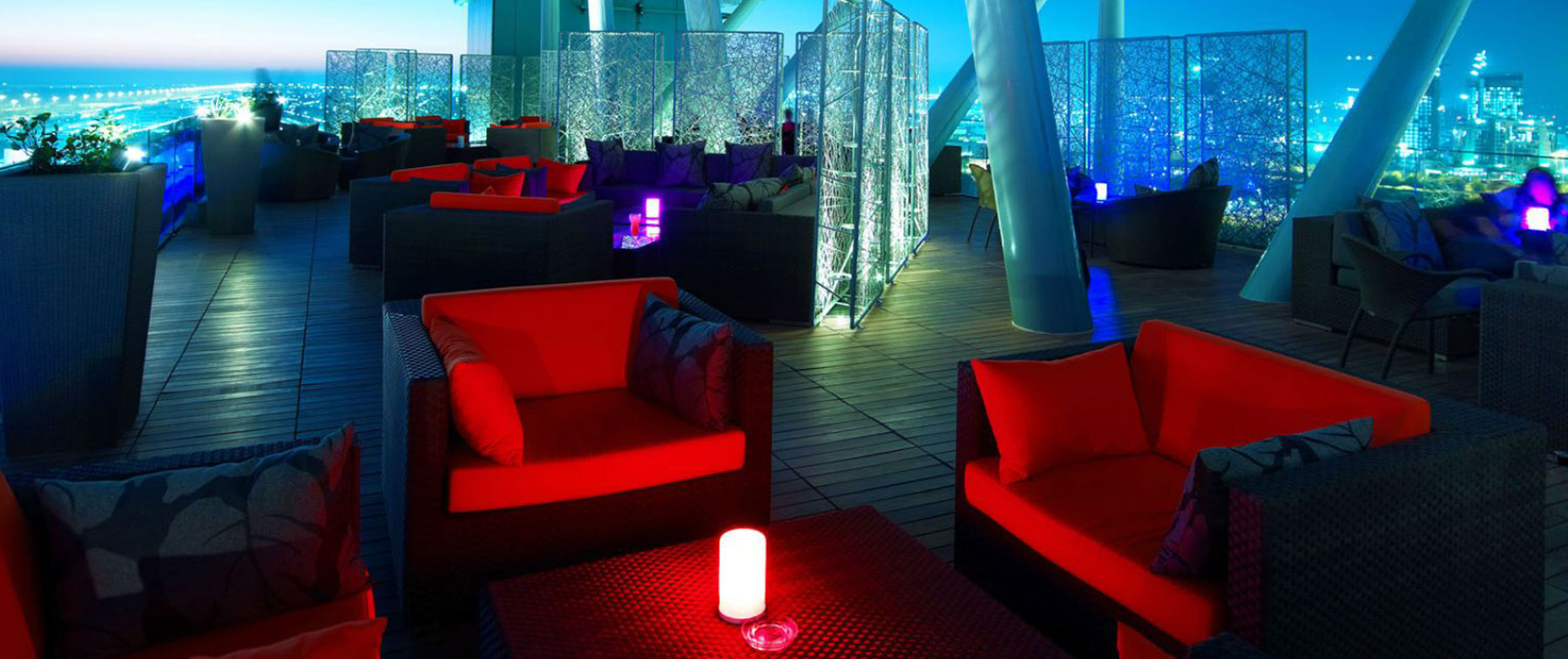 Rooftop Party Lounge in Abu Dhabi- Relax@12